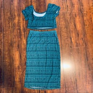 Dresses & Skirts - Aztec Two Piece